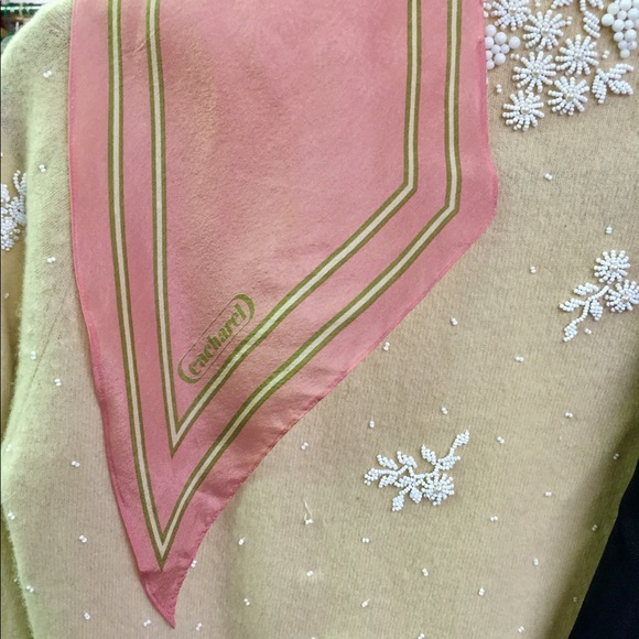 079e11be62 Fabulous Cacharel Vintage Silk Scarf. Vintage. M_5aa33b58fcdc318a00fbdf15.  M_5a44514a31a37600aa0b278d. M_5a4451701dffda7ea90b2a94